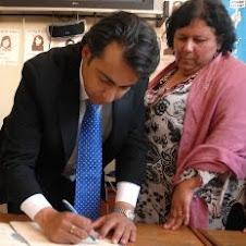 Arrate y MEO firmaron Compromiso Presidencial de DD.HH Frei y Piñera se esfumaron-30-11-09