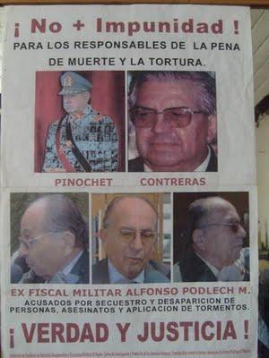 """EL TERROSISTA DEL ESTADO FASCISTA """"CH$LENO""""= EURO-U$A =PODLECH MICHAUD ALFONSO ENFRENTA JUICIO POR"""