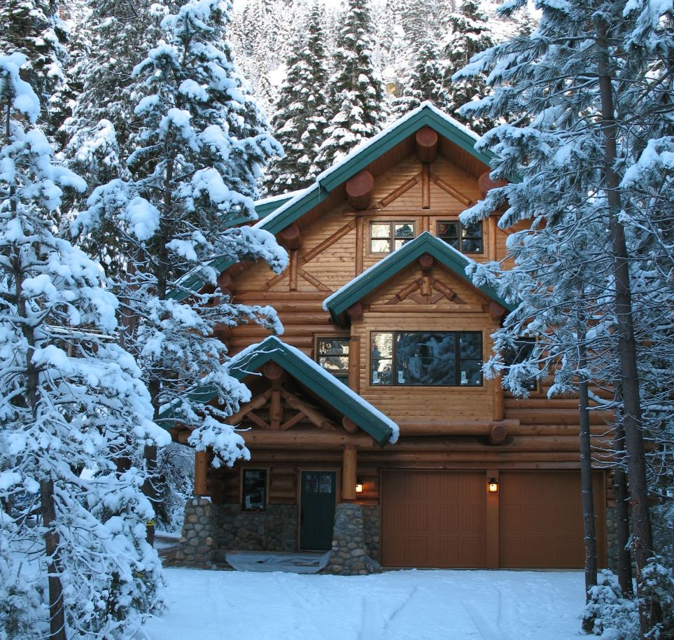 Cabin winter for Luxury winter cabins