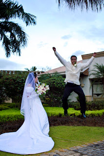 Philippine wacky wedding photo