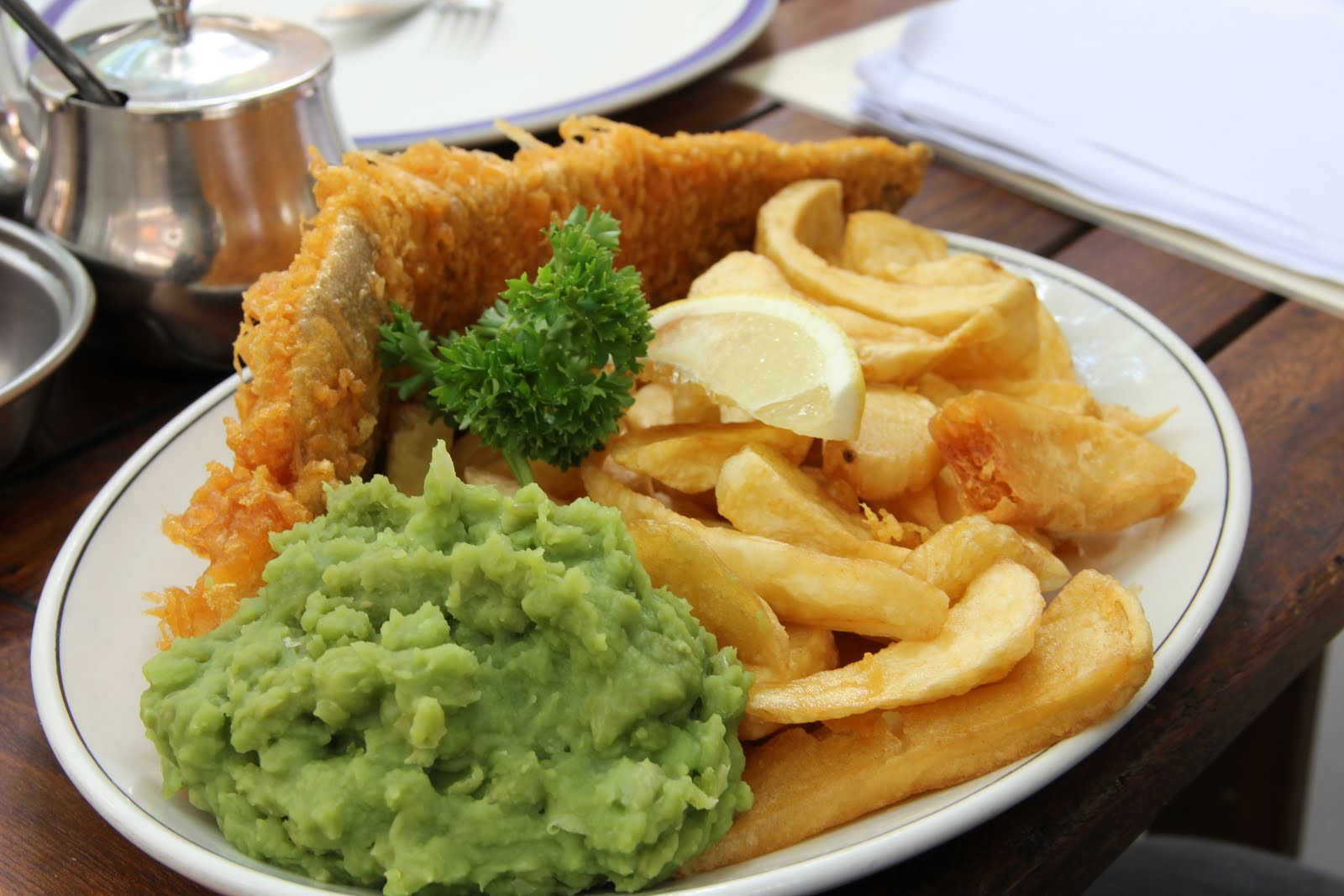 Sabbatical happy valley london fish chips for Fish and chips london