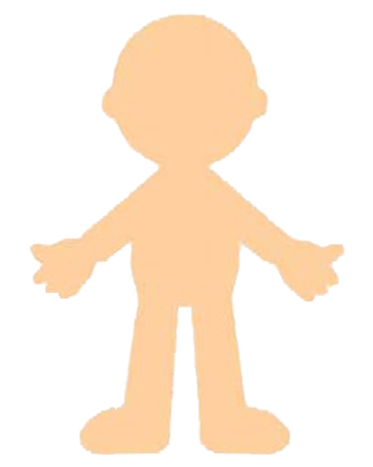 Tactueux image throughout printable paper doll body