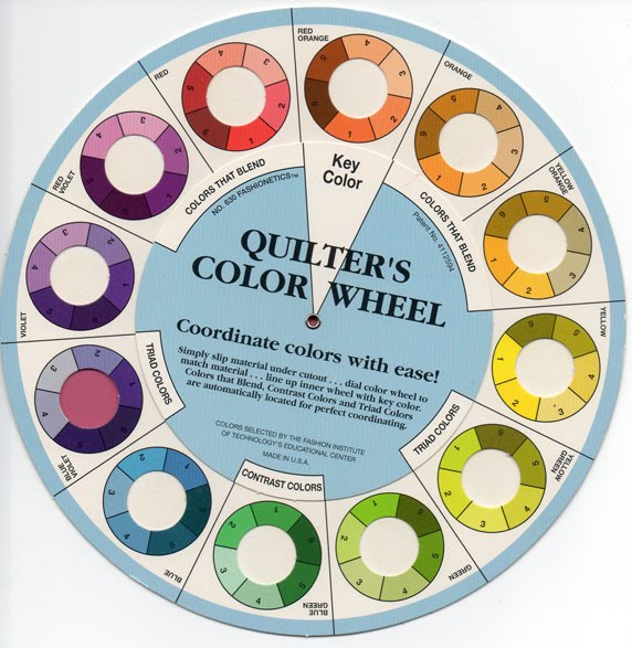 Nancy G Cook The Color Wheel Kept Close At Hand