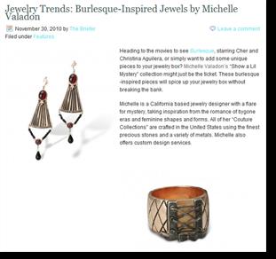 Jewelry Brief Michelle Valadon