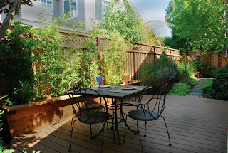 outdoor small landscaping space