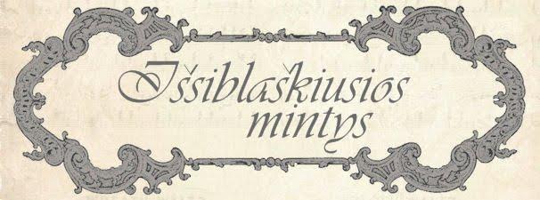IŠIBLAŠKIUSIOS MINTYS