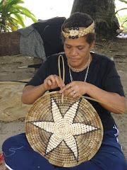 Tongan weaver
