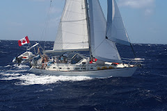 Sailing in the Tuamotus
