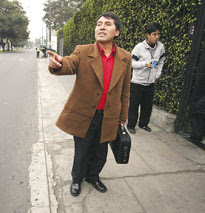 Hernán Fuentes, presidente de la región de Puno
