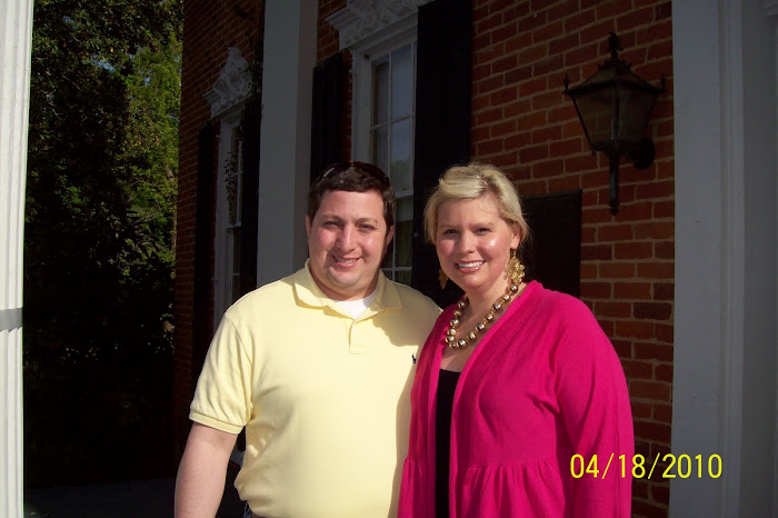 Dan and I at Holly Springs Sweet Potato Queens Party
