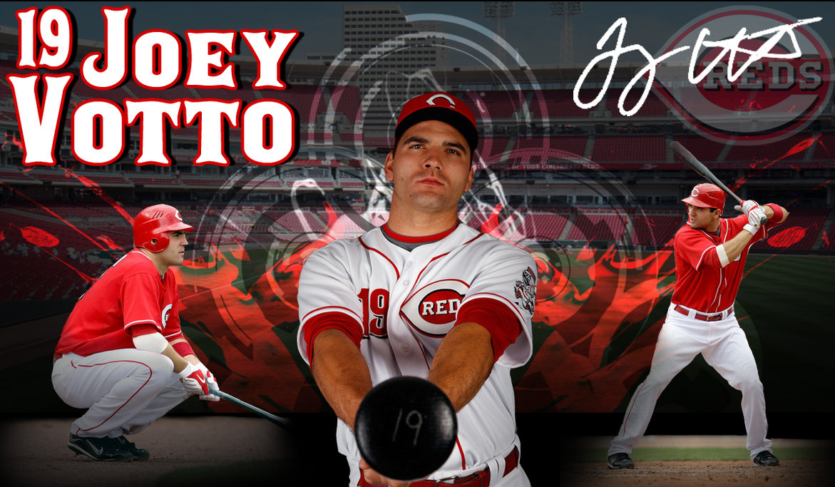 JOEY VOTTO was named the 2010 Nationall League MVP !