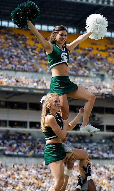 Remarkable, Michigan state spartans cheerleaders rather
