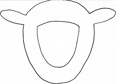 Oi Sheep Face Mask Template on goat patterns