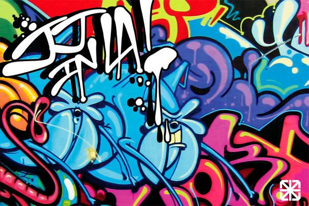 wallpaper graffiti