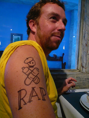 The best of the WORST tattoos in Seattle! This weeks' winners… RAP Style Line - Tattoo U!