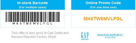 photo regarding Gap Outlet Printable Coupon named Hole, Banana Republic, Previous Army,Athleta Printable Coupon codes