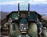NAVEGA EN 3D DENTRO DE UN F-16 - SEE A 3D VIRTUAL REALITY VIEW OF THE F-16 IN SUPER VIPER COCKPIT