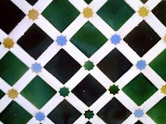 Azulejos en La Alhambra...