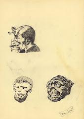 """""""Varios rostros"""", por Paco de la Calle"""