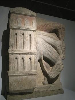 Caballos de una Epifanía románica (Museo Catedral Santiago)