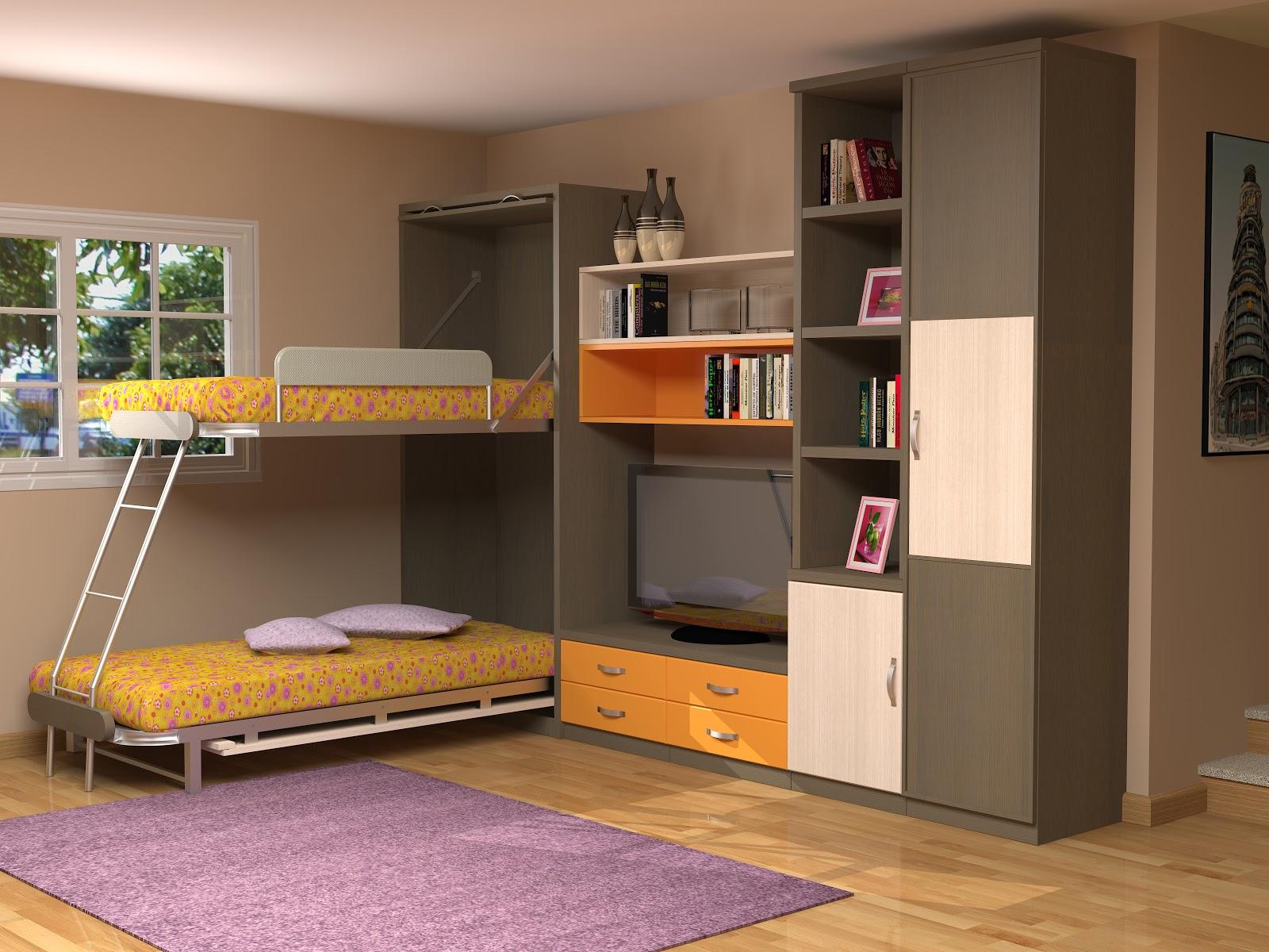 Muebles juveniles dormitorios infantiles y habitaciones juveniles en madrid litera vertical - Muebles literas abatibles ...