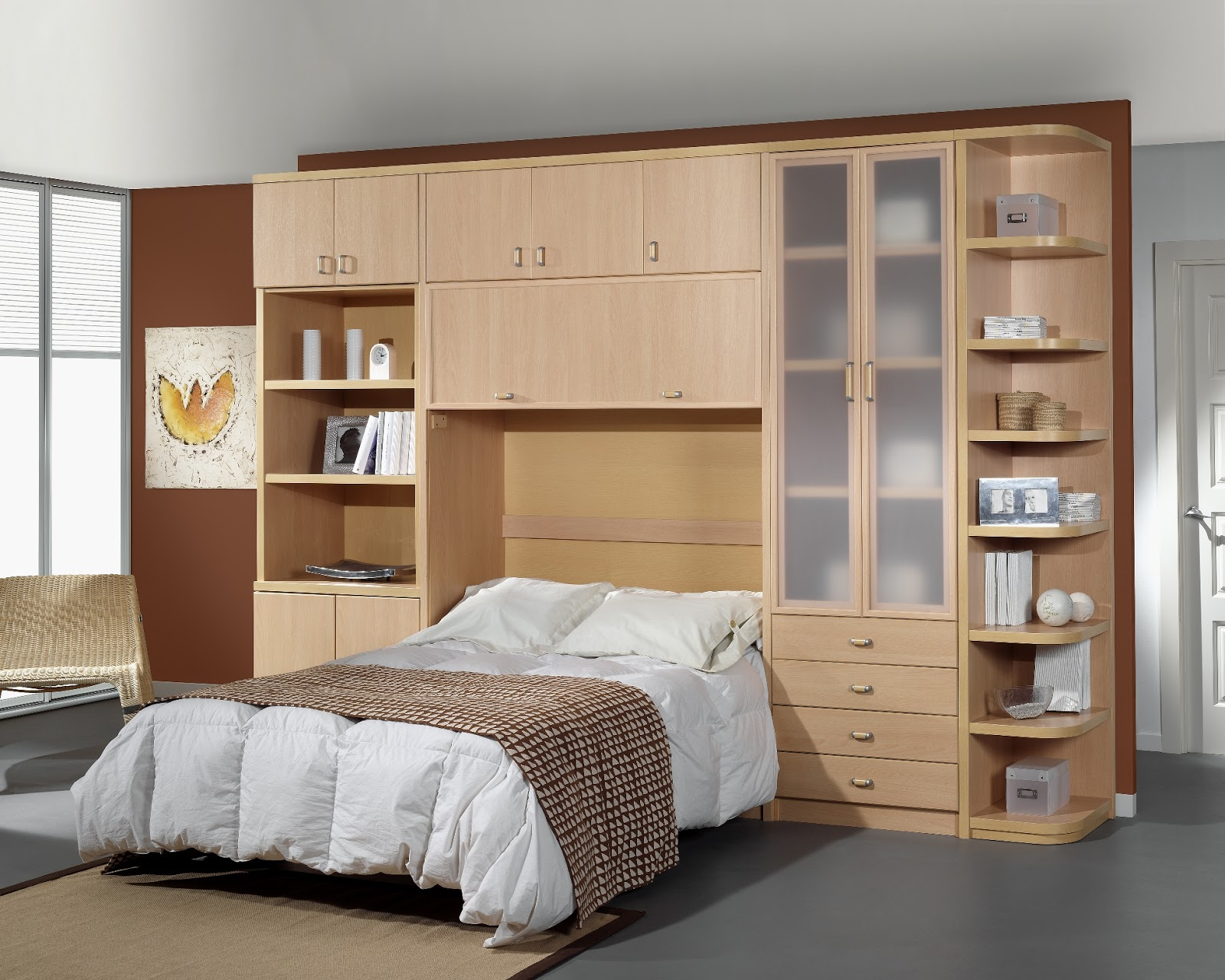 Muebles juveniles dormitorios infantiles y habitaciones for Mueble cama matrimonio