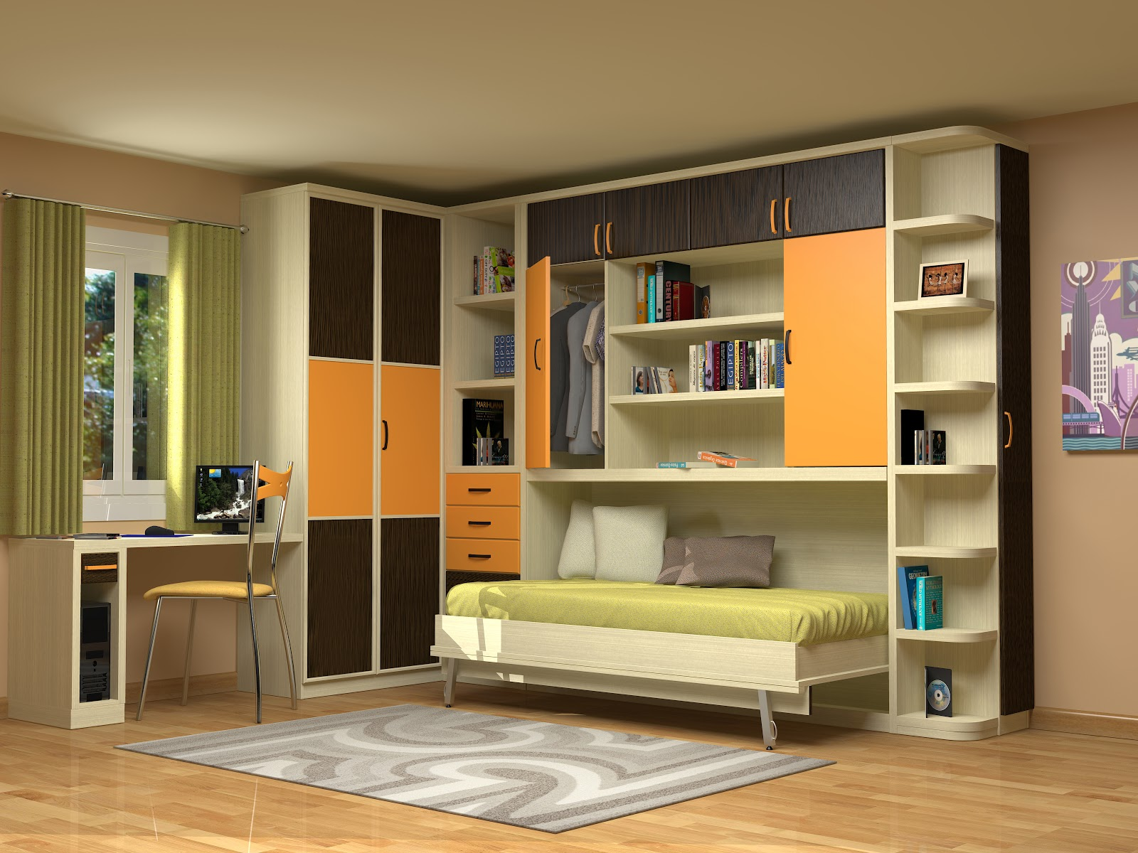 Muebles juveniles dormitorios infantiles y habitaciones for Muebles conforama dormitorios juveniles