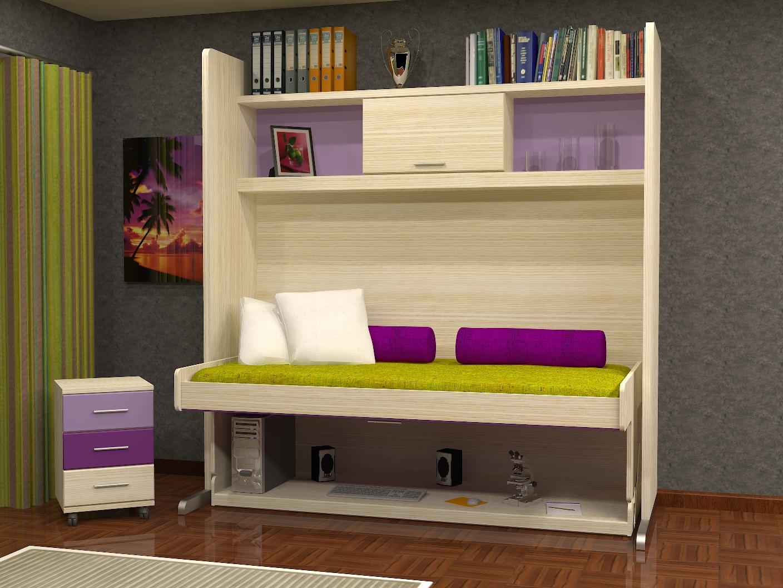 Muebles juveniles dormitorios infantiles y habitaciones for Muebles infantiles modernos