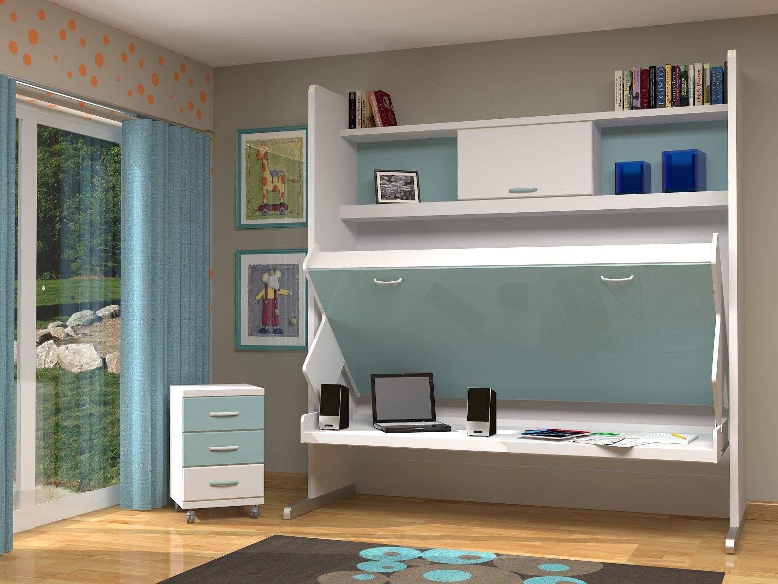Muebles juveniles dormitorios infantiles y habitaciones - Mecanismo para camas abatibles ...