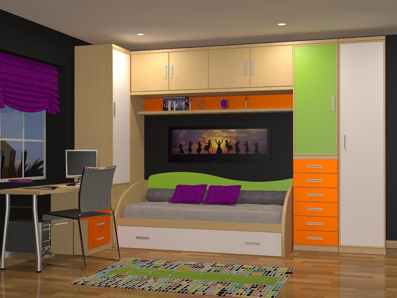 Tienda dormitorios juveniles decoraci n integral para tu - Camas individuales infantiles ...