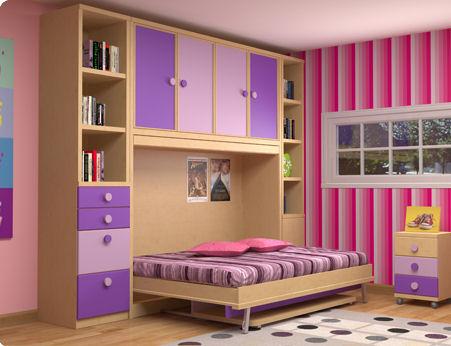 Camas abatibles en madrid camas abatibles toledo cama for Mueble juvenil cama abatible