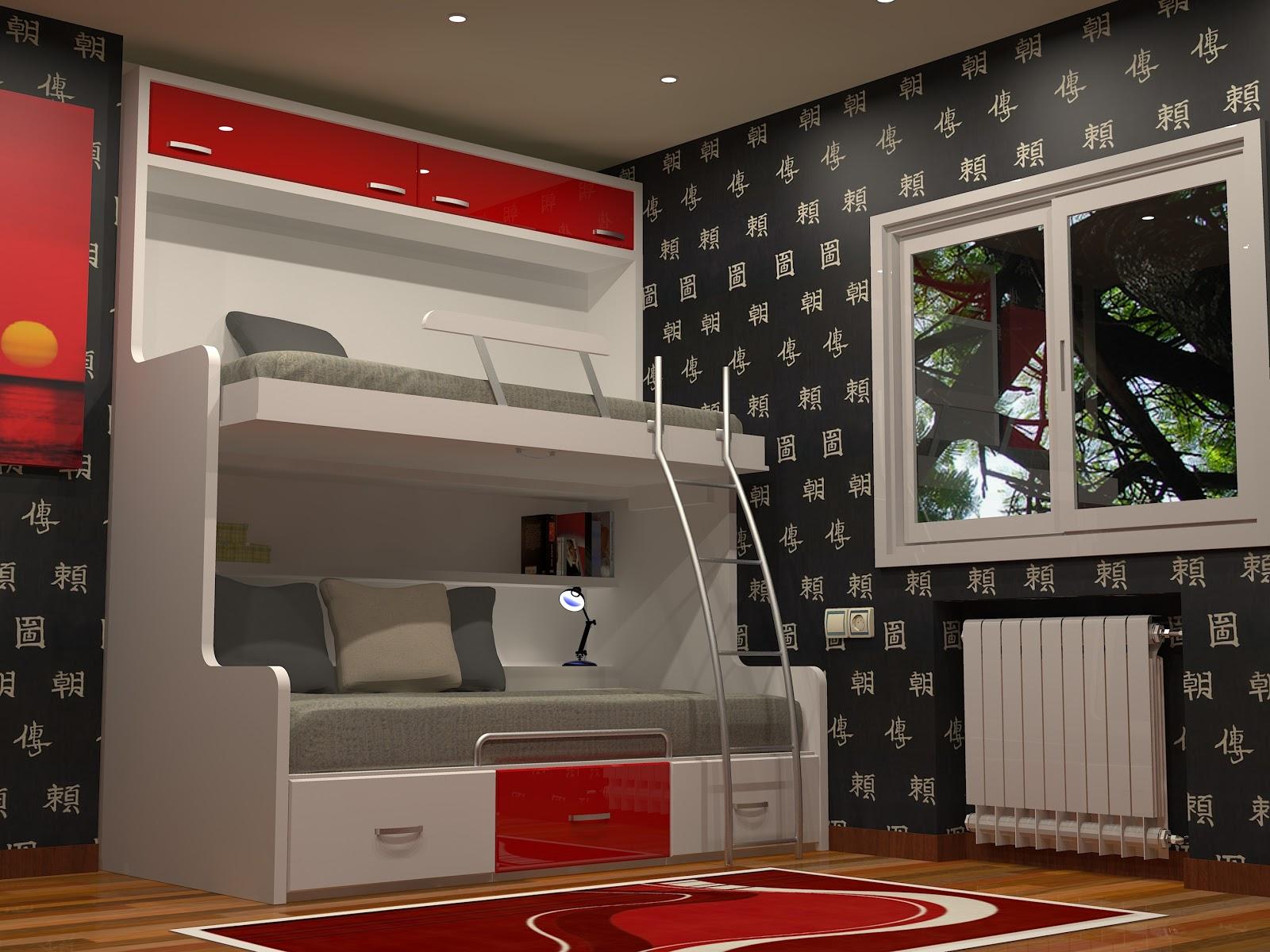 Tienda dormitorios juveniles decoraci n integral para tu for Camas dobles juveniles ikea