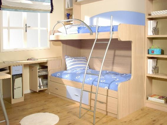 Tienda dormitorios juveniles decoraci n integral para tu for Como hacer una cama nido con cajone