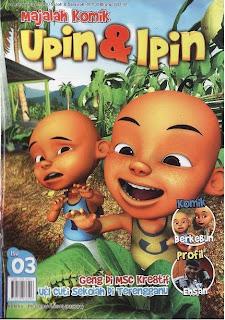 Majalah Komik Upin dan Ipin 03