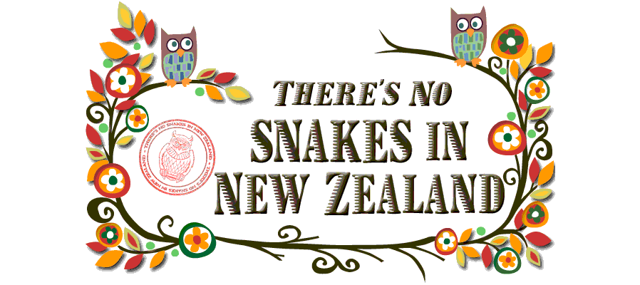 There's no snakes in New Zealand