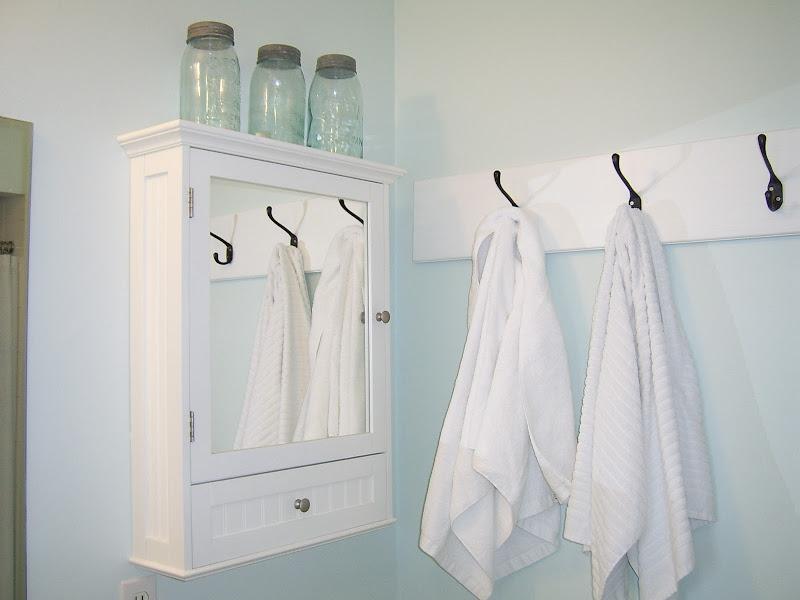 Bathroom Towel Hook Idea
