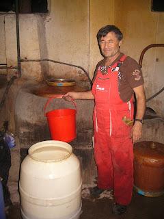 Bulgarian Rakia Making Day 2008