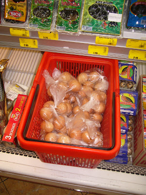 Eggs back in Plastic Bag