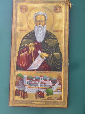 Rila Monastery Fresco in Yambol's New Hospital