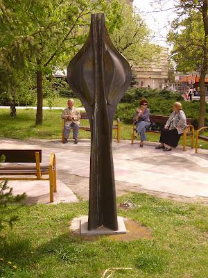 Yambol Park - Iron Sculpture