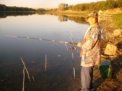 Fishing In A Secret Bulgarian Lake Location