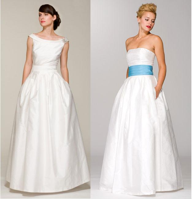Wedding dresses with pockets Brautkleider mit Taschen