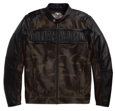 Harley-Davidson Surveillance leather jacket