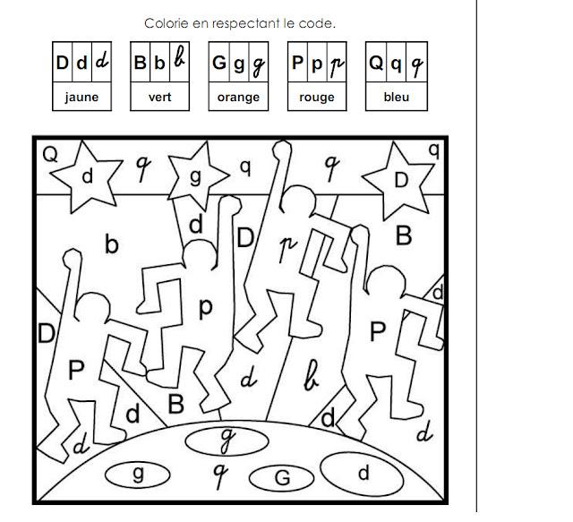 Coloriage Magique Avec Des Lettres - coloriages magiques avec les lettres Livres et fournitures