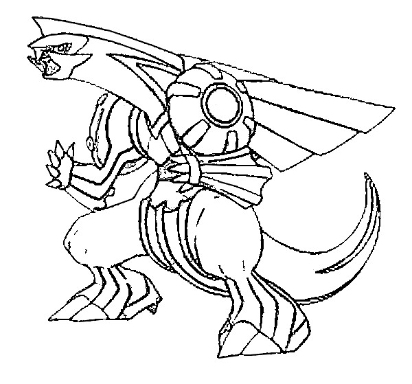 Coloriage Pokemon Palkia