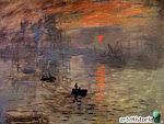 Manet Impresión Sol Naciente 1872