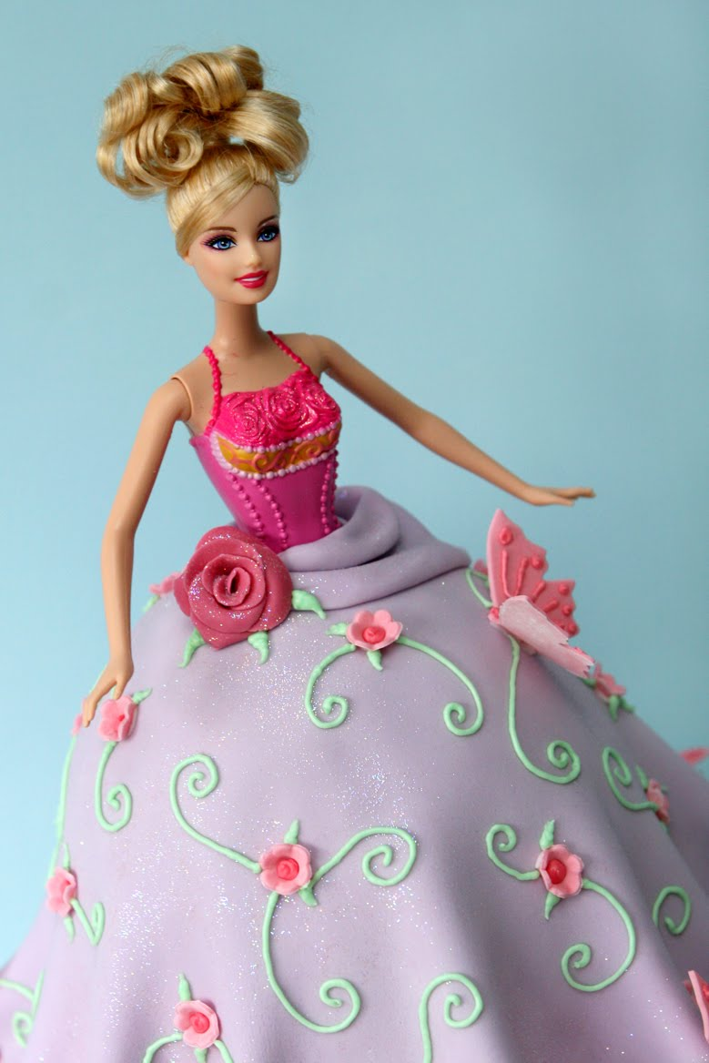 Cake Images Barbie : Cartoons Videos: Barbie princess delicious and tasty cakes ...