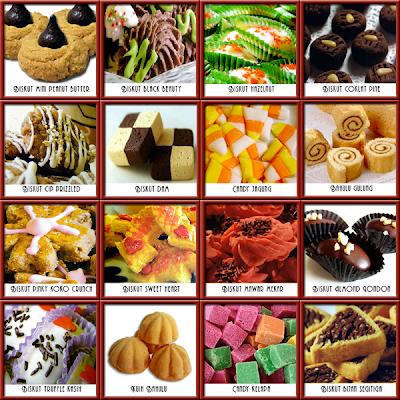 gambar resepi yang terdapat dalam e-book 100 Resepi Masakan Kuih Raya
