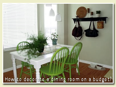 uxwdvs 39 s blog how to decorate a dining room on a budget