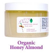 100 Percent Pure Organic Honey Almond Body Scrub
